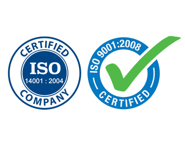 ISO 9001:2008 & 14001:2004 Certified Company